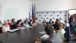 Ședința publică organizată de Ministerul Sănătății de dezbatere a proiectului de Ordonanță a Guvernului pentru modificarea și completarea Legii nr. 95/2006 privind reforma în domeniul sănătății