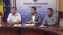 Declarații după ședința săptămânală a serviciilor primăriei Chișinău din 29 iulie 2019