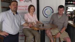 Ședința Clubului presei economice cu Alianța Întreprinderilor Mici și Mijlocii din Moldova