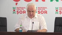Briefing susținut de Președintele de onoare al Partidului Politic ȘOR, Valerii Klimenco