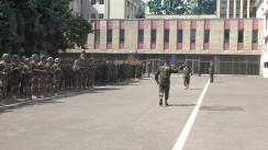 Ceremonia de revenire a militarilor moldoveni de la exercițiul Agile Hunter din SUA