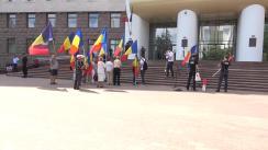 """Membrii și simpatizanții Asociației """"UNIREA-ODIP"""" solicită scoaterea interdicției lui George Simion"""