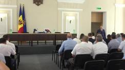 Prezentarea funcționarilor din cadrul Procuraturii Generale a Procurorului General interimar, Dumitru Robu