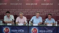 """Conferința de presă organizată de Confederația Națională a Patronatului din Moldova cu tema """"Către autorități: lipsa consultărilor – eșec garantat"""""""