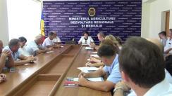 Întrevederea Ministrului Agriculturii, Dezvoltării Regionale și Mediului, Georgeta Mincu, cu vinificatorii și producătorii de struguri