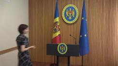 Declarațiile Prim-ministrului Republicii Moldova, Maia Sandu, și a Ministrului Afacerilor Interne, Andrei Năstase, după ședința Guvernului Republicii Moldova din 15 august 2019