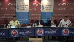 """Dezbateri publice cu tema """"Totalurile primei sesiuni a noului Parlament: pro și contra"""""""