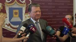 Declarație de presă susținută de Președintele nou-ales al Curții Constituționale a Republicii Moldova, Vladimir Țurcan