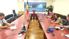 Conferință de presă susținută de Ministrul Economiei și Infrastructurii al Republicii Moldova, Vadim Brînzan, privind mai multe subiecte de actualitate