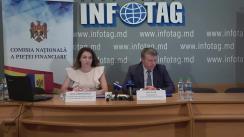 """Conferință de presă organizată de Comisia Națională a Pieței Financiare cu tema """"CNPF a inițiat amendarea reglementărilor în creditarea nebancară"""""""