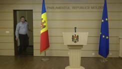 Declarație de presă susținută de deputatul Blocului ACUM, Lilian Carp