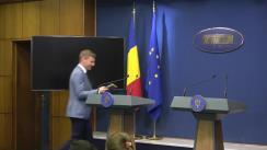 Conferință de presă după ședința Guvernului României din 21 august 2019
