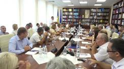 Ședință de lucru organizată de Comisia cultură, educație, cercetare, tineret, sport și mass-media cu conducătorii instituțiilor de învățământ profesional tehnic