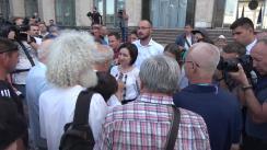 Cabinetul de miniștri condus de prim-ministrul Republicii Moldova, Maia Sandu, de vorbă cu cetățenii