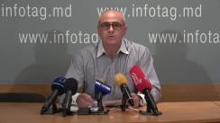 """Briefing de presă susținut de Igor Fraihman, un prieten apropiat al familiei Luncașu, cu tema """"Declarații de presă din numele familiei decedatului, Iurie Luncașu"""""""