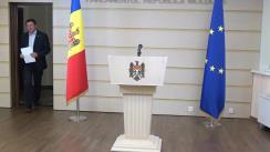 Briefing susținut de Președintele Comisiei de anchetă pentru analiza modului de organizare și desfășurare a privatizării și concesionării proprietății publice (2013-2019), Igor Munteanu, referitor la noii proprietari ai Aeroportului Internațional Chișinău