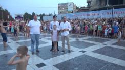"""Inaugurarea havuzului din preajma Parcului """"Valea Trandafirilor"""""""