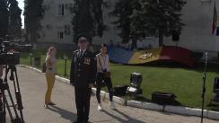 Ceremonia de depunere a jurământului solemn de către subofițerii de poliție debutanți