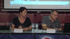 """Conferința de presă susținută de Serghei Pesterev, păgubit în urma acțiunilor unui criminal dovedit, cu tema """"Procuratura acoperă criminalul chiar și după ce Curtea de Apel a demonstrat vinovăția lui. Decizia Curții: Activitatea procurorilor este reducă la zero"""""""