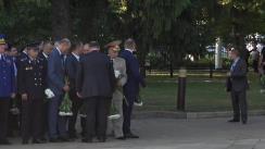 """Depunere de flori la monumentul """"Maica îndurerată"""" cu prilejul Zilei Independenței Republicii Moldova"""