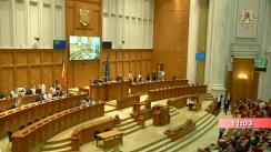 Ședința în plen a Camerei Deputaților României din 28 august 2019