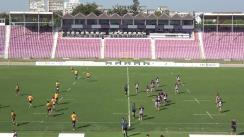 Meciul de Rugby între Timișoara Saracens - CS Universitatea Cluj. SuperLiga CEC BANK 2019-2020