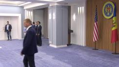 Întâmpinarea lui John Bolton, consilierul președintelui SUA pentru securitate națională, de către prim-ministrul Republicii Moldova, Maia Sandu