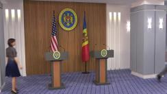 Conferință de presă susținută de Prim-ministrul Republicii Moldova, Maia Sandu, și consilierul președintelui SUA pentru securitate națională, John Bolton