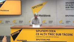 """Conferința de presă cu tema """"Cele mai bune hituri din anii 70-80 interpretate de vedetele moldovenești"""""""