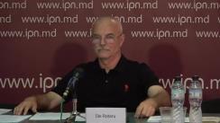 """Conferința de presă organizată de avocatul Ilie Rotaru cu tema """"Despre schemele prin care Voronin și Plahotniuc au delapidat averile cetățenilor Moldovei"""""""