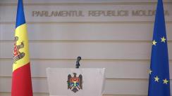 """Conferință de presă susținută de Președintele Comisiei de anchetă pentru analiza modului de organizare și desfășurare a privatizării și concesionării proprietății publice (2013-2019), Igor Munteanu, cu tema """"Noi detalii privind concesionarea Aeroportului Internațional Chișinău"""""""