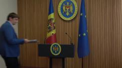 Declarațiile Secretarului general al Guvernului, Andrei Spînu, după ședința Guvernului Republicii Moldova din 30 august 2019