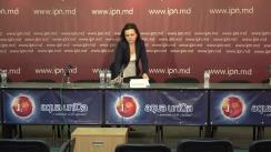 """Conferința de presă organizată de Partidul Mișcarea Populară Antimafie cu tema """"Declarația Partidului Mișcarea Populara Antimafie cu privire la alegerile din octombrie 2019"""""""