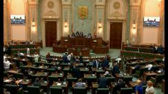 Ședința în plen a Senatului României din 2 septembrie 2019