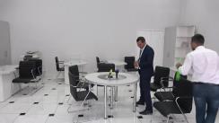 Ruslan Codreanu depune actele la Consiliul Electoral de Circumscripție Chișinău pentru înregistrarea grupului de inițiativă care va colecta semnături pentru candidatura sa la Primăria municipiului Chișinău