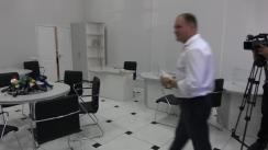 Ion Ceban depune documentele pentru înregistrare în calitate de candidat pentru funcția de primar general al municipiului Chișinău din partea Partidului Socialiștilor din Republica Moldova