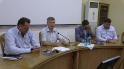 Declarații după ședința săptămânală a serviciilor primăriei Chișinău din 2 septembrie 2019