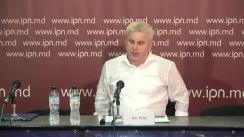 """Conferința de presă susținută de Președintele AO """"Centrul de Inițiative și Monitorizare Autorități Publice"""", Ion Dron, cu tema """"Reformele au nevoie de un Pact pentru Justiție"""""""