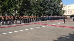 Ceremonie militar-protocolară la Ministerul Apărării dedicată aniversării a XXVIII-a de la formarea Armatei Naționale