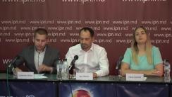 """Conferința de presă organizată de Compania de Consultanță Juridică JUSTSTUDIUMANIMA cu tema """"Ilegalități acceptate de APL Budești. Terenuri vândute în afara cadrului normativ"""""""