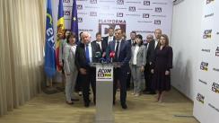 Conferință de presă susținută de Președintele Partidului Platforma Demnitate și Adevăr, Andrei Năstase, și Președintele Partidului Popular European, Joseph Daul