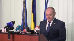 Declarație de presă susținută de procurorul șef al Direcției de Investigare a Infracțiunilor de Criminalitate Organizată și Terorism, Felix-Oliver Bănilă, privind cazul Caracal