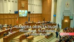 Ședința în plen a Camerei Deputaților României din 10 septembrie 2019