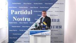 """Prezentarea candidatului """"Partidului Nostru"""" la funcția de primar general al mun. Chișinău"""