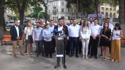 Prezentarea echipei lui Victor Chironda, cu care intenționează să participe în cursa electorală din 20 octombrie 2019 în mun. Chișinău