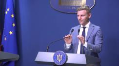 Conferință de presă după ședința Guvernului României din 9 septembrie 2019