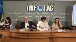 """Conferință de presă organizată de reprezentanții companiei farmaceutice """"FARMAC"""" cu tema """"Standardele europene de calitate ale companiei farmaceutice ucrainene în Moldova"""""""