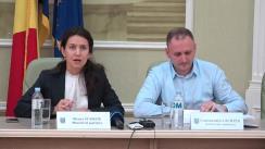 """Conferință de presă organizată de Ministerul Justiției privind procedura de arbitraj în cauza Republica Moldova versus compania ucraineană """"Energoalians"""""""