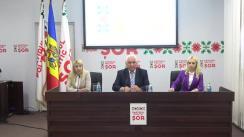 """Prezentarea candidatului Partidului Politic """"ȘOR"""" la alegerile locale din 20 octombrie în mun. Chișinău"""