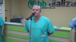 Lansarea Centrului de Dializă din Cahul